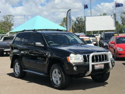 2007 Jeep Grand Cherokee WH Laredo (4x4) Black 5 Speed Automatic Wagon