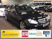 2012 Mercedes-Benz C Class 2.1 C250 CDI BlueEFFICIENCY Sport 5dr Diesel black Ma