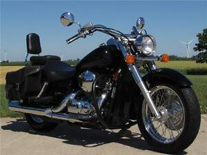 2005 honda Shadow Aero 750   Inexpensive, Easy Handling Tourer R