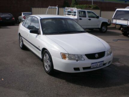 2004 Holden Commodore VZ Executive White 4 Speed Automatic Sedan