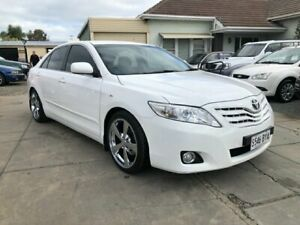 2009 Toyota Camry ACV40R 09 Upgrade Ateva Diamond White 5 Speed Automatic Sedan Park Holme Marion Area Preview