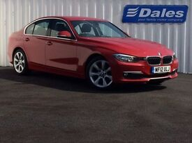 BMW 3 Series 320D Luxury Auto 4 dr (red) 2012