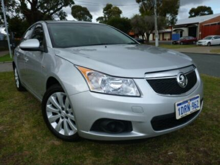 2011 Holden Cruze JH 1.4iTi CD Silver 6 Speed Manual Sedan Alfred Cove Melville Area Preview
