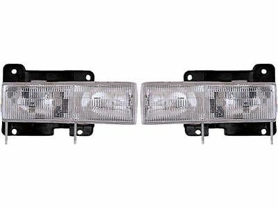 For 1995-2000 Chevrolet Tahoe Headlight Assembly Dorman 52655KP 1999 1998 1997