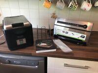"Sous Vide Supreme Demi, Foodsaver Vacuum Sealer and ""Sous Vide"" Cookbook"