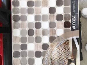 Brand New Aurora Peel and Stick Mosaic Tile/Backsplash x30