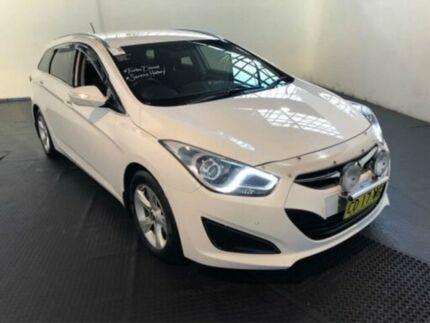 2014 Hyundai i40 VF2 ACTIVE TOURER Creamy White Steptronic Wagon Clemton Park Canterbury Area Preview