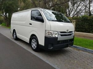 2017 Toyota HiAce KDH201R LWB White 4 Speed Automatic Van Hawthorn Mitcham Area Preview