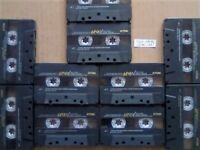 JL £36.99 & FREE P&P 10x GUARANTEED TDK AR 90 PREMIUM CASSETTE TAPES 1990-1991 W/ CARDS CASES LABELS