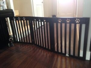 """Dog Gate Needed - 24"""" x 5 ft. approx."""