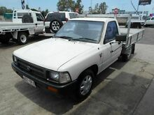 1997 Toyota Hilux RN85R White 5 Speed Manual Utility Wacol Brisbane South West Preview