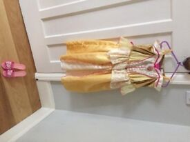 Disney Sleeping Beauty dressing up outfit 3-4 years old