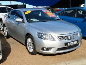 2011 Toyota Aurion GSV40R MY10 Touring Silver 6 Speed Sports Automatic Sedan Minchinbury Blacktown Area Preview