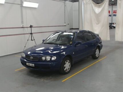 2000 Toyota Corolla AE112R Ascent Seca Blue 5 Speed Manual Liftback Warabrook Newcastle Area Preview