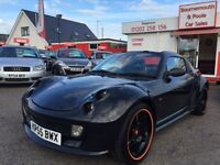 SMART ROADSTER 0.7 BRABUS 2d AUTO 100 BHP ROADSTER ELECTRIC ROOF (black) 2005