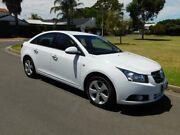 2010 Holden Cruze JG CDX White 6 Speed Sports Automatic Sedan Somerton Park Holdfast Bay Preview
