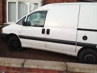 2004 white Peugeot Expert van for sale good bodywork Mot until June