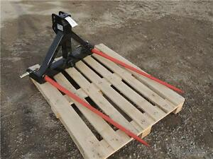 "HLA 3pt. Hitch Bale Spear - 49"" tines, 2"" receiver for ball hitc Regina Regina Area image 2"