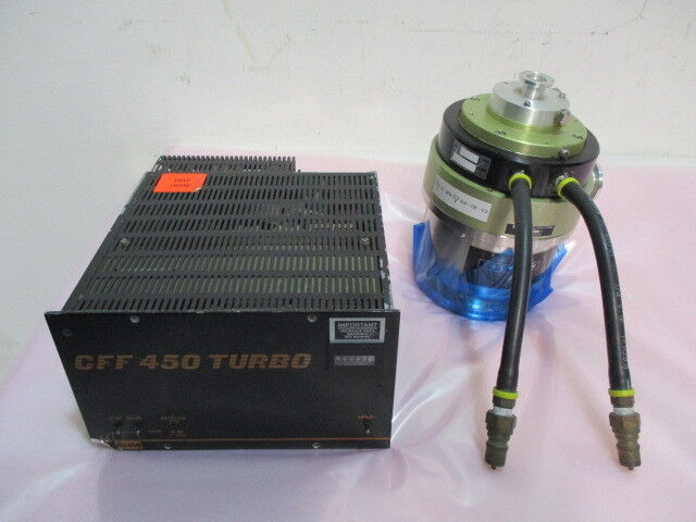 Alcatel-Annecy 5150 CP, Turbo Vacuum Pump w/ CFF 450 Turbo Controller. 423012