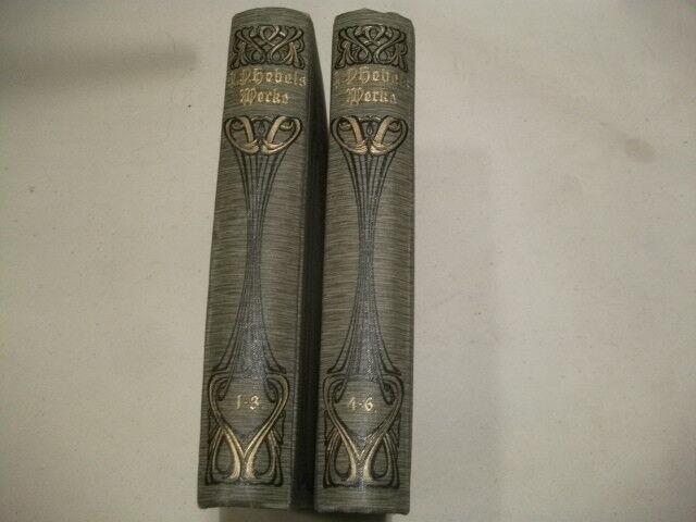 Johann Peter Hebel s sämtliche poetische Werke. 6 Bände. Um 1900.