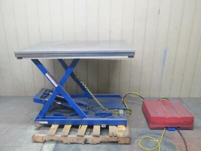 Vestil 4000 Lbs Hydraulic Scissor Lift Table 53 X 36 3 Ph 208-230460v
