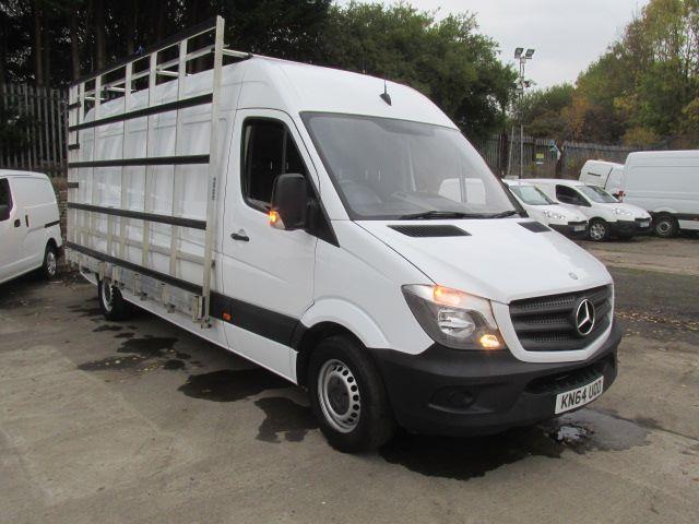 Mercedes-Benz Sprinter 313CDi LWB High Roof 3.5T High Roof Van with Window Rack