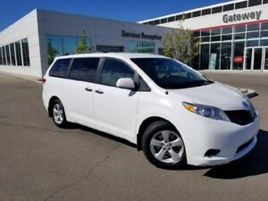 2011 Toyota Sienna V6 7PASS Tri-Zone Climate Control, Power Wind