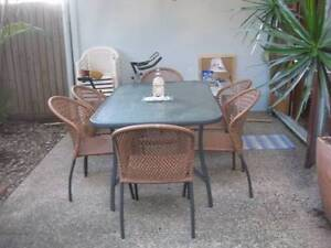 Aluminium Dining Setting, Very good condition! Norman Park Brisbane South East Preview