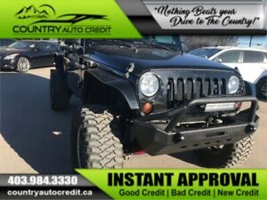 2012 Jeep Wrangler Lifted | InHouse Finance Available