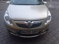 Corsa Desgn Auto, 1.4 Very Low Mileage, Superb condition, 1 year MOT, Part leather interior