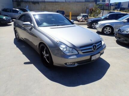 2009 Mercedes-Benz CLS350 C219 MY09 Coupe Silver Grey 7 Speed Sports Automatic Sedan Wangara Wanneroo Area Preview