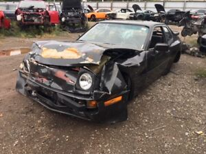 1983 Porsche 944 just in for parts at Pic N Save!