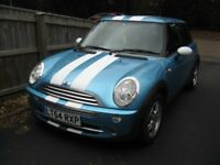 2005 MINI 1.6 YEARS MOT NO ADVISORY 2 LADY OWNERS HISTORY POSS/PART X