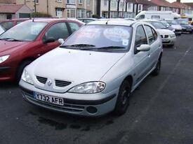 2001 RENAULT MEGANE 1.4 16V Expression + 5 Door From GBP695 + Retail Package