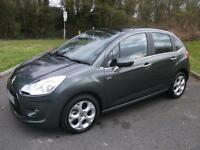 CITROEN C3 1.6 EXCLUSIVE 5d AUTO 118 BHP (grey) 2011