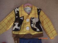 Woody Toy Story Dressing Up Disney Store Age 3 4years