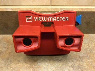 Vintage gaf View-Master Red
