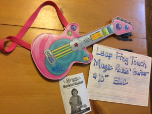 Leap Frog Touch Magic - Rockin' Guitar (interactive) $10