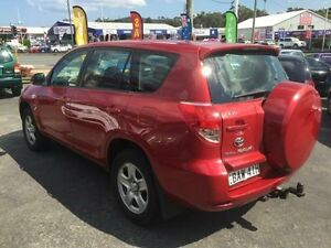 2006 Toyota RAV4 ACA33R CV (4x4) Red 5 Speed Manual Wagon Sandgate Newcastle Area Preview