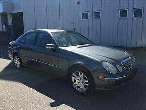 2005 MERCEDES BENZ E320 4MATIC NAVIGATION 169KM