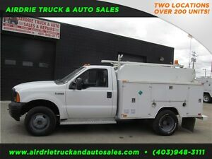 2007 Ford Super Duty F-350 DRW XL Service Body