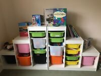 Toy Chest Ikea (with buckets) x 2