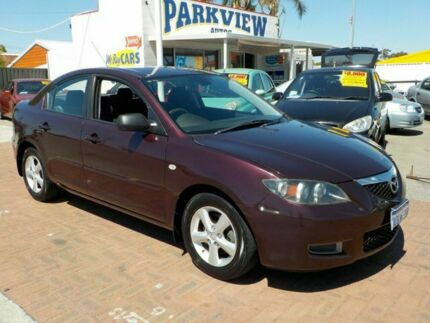 2006 Mazda 3 BK10F1 Maxx Purple 4 Speed Automatic Sedan Victoria Park Victoria Park Area Preview