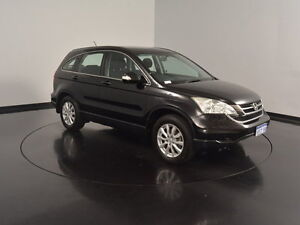 2011 Honda CR-V RE MY2010 4WD Black 5 Speed Automatic Wagon Welshpool Canning Area Preview