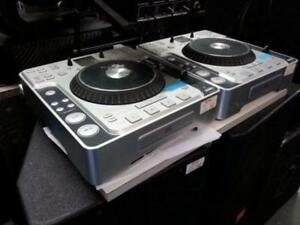 Stanton CDJ turntable set. We Buy and Sell Used Pro Audio Equipment. 107547