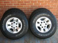 Toyota Tacoma Truck Alloy Wheels Tires Rims