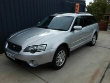 2003 Subaru Outback B4A MY04 Premium Pack D/Range AWD Silver 5 Speed Manual Wagon Blair Athol Port Adelaide Area Preview