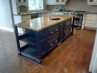 Kitchen cabinet Spray Painting Call 416-881-3583