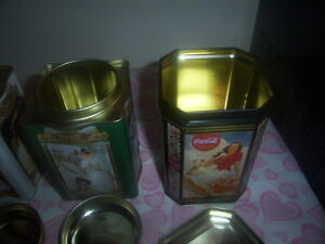 collectible tin containers coca-cola Kingston Kingston Area image 4