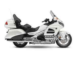 2015 Honda Goldwing non current blowout! White non airbag